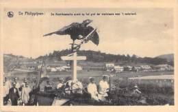 PHILIPPINES - L'aigle Américain Sur La Tombe Des Martyrs  Amer Arend Op Het Graf Der Martelaars  CPA Asie Asia MILITARIA - Philippines