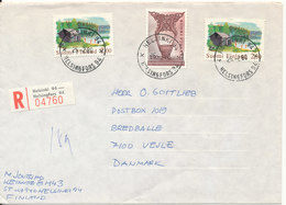 Finland Registered Cover Sent To Denmark Helsinki 25-2-1980 - Briefe U. Dokumente