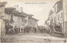 BRIGUEIL (16) Rue Quiterne Belle Animation - Andere Gemeenten