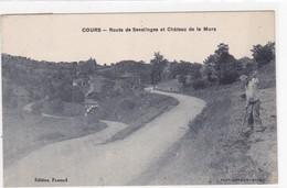 COURS - Route De Sevelinges Et Château De La Mure - Autres Communes