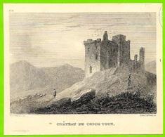 Fragment D'Hors-Texte - CRICHTON CASTLE Scotland Ecosse - Old Paper
