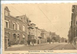"""Marcinelle     """" Vielle Tram Au Font De La Rue  Destrée  """" - Charleroi"""