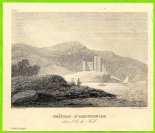 Fragment D'Hors-Texte - ARDTORNISH CASTLE Scotland Ecosse - Old Paper
