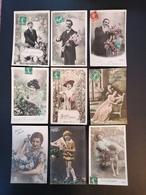 23 Cpa. Fantaisies. Bel Ensemble. 1 Euro. - Fancy Cards
