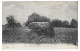SAINT LEONARD (87) Dolmen Monument Druidique Du Masrévéry - Saint Leonard De Noblat