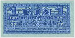 GERMANY, WW II, , 1 REICHSPFENNIG 1942 , P-32  UNC - [10] Emisiones Militares