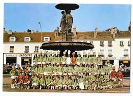 MELUN (77) CPSM Troupe De Majorettes - Melun