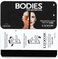 Luxor Hotel & Casino, Las Vegas, Used Magnetic Hotel Room Key Card # Lux-27 - Chiavi Elettroniche Di Alberghi