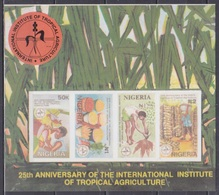 1992Nigeria590-593/B15bFruits And Vegetables - Fruits