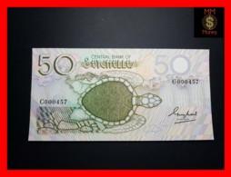 SEYCHELLES 50 Rupees 1989  P. 30  Low Serial   UNC - Seychellen