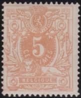 Belgie     .    OBP        .    28 (2 Scans)    .      *     .   Ongebruikt Met Gom  .   /   .   Neuf Avec Gomme - 1869-1883 Leopold II
