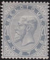 Belgie  .    OBP .    39  (2 Scans)     .  * .   Ongebruikt Met Gom  .   /   .   Neuf Avec Gomme - 1883 Leopold II