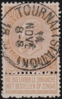 Belgie     .    OBP        .    62      .       O      .        Gebruikt  .   /   .  Oblitéré - 1893-1900 Fine Barbe