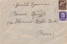 Italien Posta Militaira Brief 1940-45 Aufdruck PM - 1900-44 Victor Emmanuel III