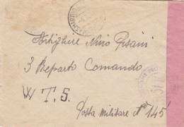 Italien Posta Militaira Brief 1940-45 - 1900-44 Victor Emmanuel III