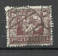 POLEN Poland Polska 1922 Ostoberschlesien Michel 14 O - Silesia (Lower And Upper)