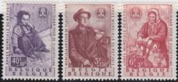 Belgie     .    OBP   .   1128/1130     .      **    .    Postfris  .   /   . Neuf Avec Gomme Et SANS Charniere - Belgique