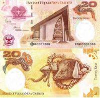 Papua New Guinea. Banknote. 20 Kean. UNC. 2008 - Papua Nueva Guinea