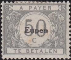 Belgie     .    OBP        .    OC 105     .      *    .     Ongebruikt Met Gom  .   /   . Neuf Avec Gomme - [OC55/105] Eupen/Malmedy