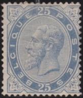 Belgie     .    OBP        .    40 (2 Scans)    .     *      .       Ongebruikt Met  Gom   .   /   .   Neuf Avec  Gomme - 1883 Leopold II