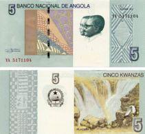 Angola. Banknote. 5th Kwanza. UNC. 2012 - Angola
