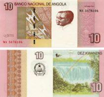 Angola. Banknote. 10th Kwanza. UNC. 2012 - Angola