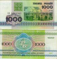 Belarus. Banknote. 1000 Rubles. Building. UNC. 1992 - Wit-Rusland
