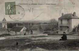 89 CHAMPIGNY SUR YONNE CHAMP COMMUN - Champigny