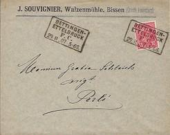 Luxembourg  -  Lettre  - 29.11.1905  -  J.Souvignier , Walzenmühle , Bissen - Autres