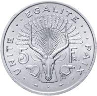 Djibouti. Coin. 5 Francs. UNC. 1991 - Dschibuti