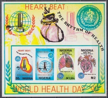 1992Nigeria584-587/B13bImperf. / MEDICINE - Medicine