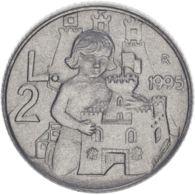 San Marino. Coin. 2 Lira 1995. VF / XF - San Marino