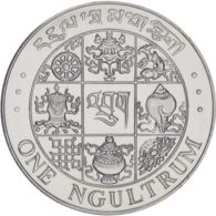 Bhutan. Coin. 1 Ngultrum 1979. AU / UNC - Bhutan