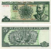 Cuba. Banknote5 Pesos. 2012. UNC. P116m - Cuba