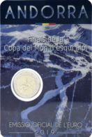 Andorra 2 Euro 2019 Bimetal World Cup Alpine Skiing UNC - Andorra