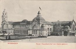 Wiesbaden - Neuer Hauptbahnhof (von Westen Gesehen) - Wiesbaden