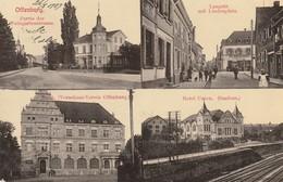 Offenburg - Partie Der Weingartenstrasse, Langstr. Mit Lindenplatz, Hotel Union, Bank - Offenburg