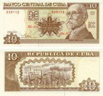 Cuba 10 Pesos 2010 UNC (P117) - Cuba