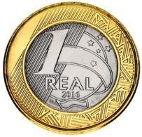 Brazil 1 Real 2016 Bimetal UNC - Brazilië
