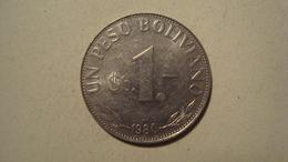 MONNAIE BOLIVIE 1 PESO BOLIVIANO 1980 - Bolivia