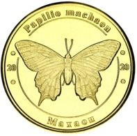 Ukraine 1 Zlotnik 2020 Red Book Of Ukraine Butterfly Swallowtail UNC - Ucraina