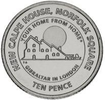 Gibraltar 10 Pence 2018 UNC (KMnew) - Gibraltar