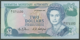 Bermuda 2 Dollars 1988, KM 34 A Fast Kassenfrisch (K423) - Bermudas
