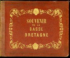 Souvenir De La Basse Bretagne Album De 18 Images De Costumes Bretons 12 Par 15 Cm - Chromos