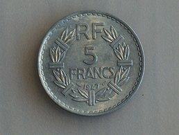 France 5 Francs LAVRILLIER, ALUMINIUM 1947 - France