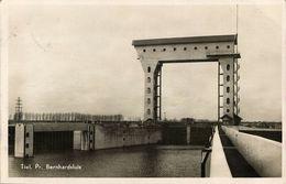 Nederland, TIEL, Prins Bernhardsluis (1953) Ansichtkaart - Tiel