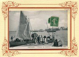 PORT LOUIS  **** ARRIVEE DES SARDINIERS EN FACE GAVRES  **** - Port Louis