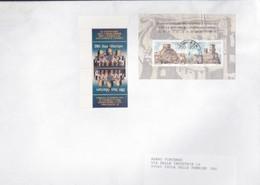SAN MARINO San Marco + Cina.su Busta. - Lettres & Documents