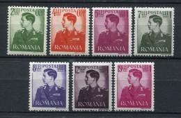 Rumania 1942. Yvert 686-92 ** MNH. - Nuovi