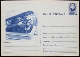 Romania Postal Stationery Card Entier - Rocket Launcher Military Militaire Militaria Uniform War Ammunition Munitions - Interi Postali